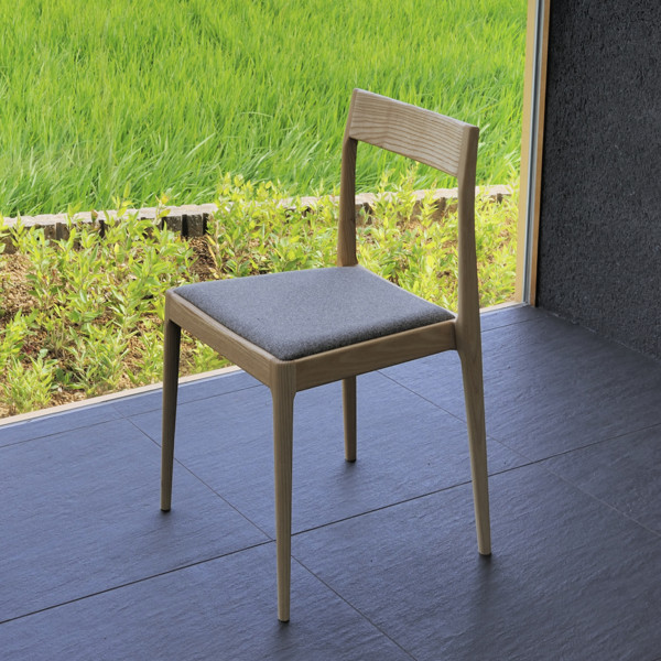 stacking wooden chair