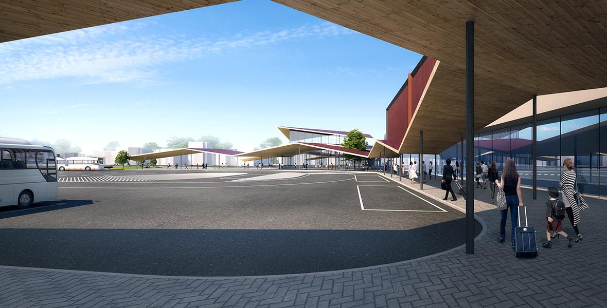 加賀温泉駅都市施設設計プロポーザル案