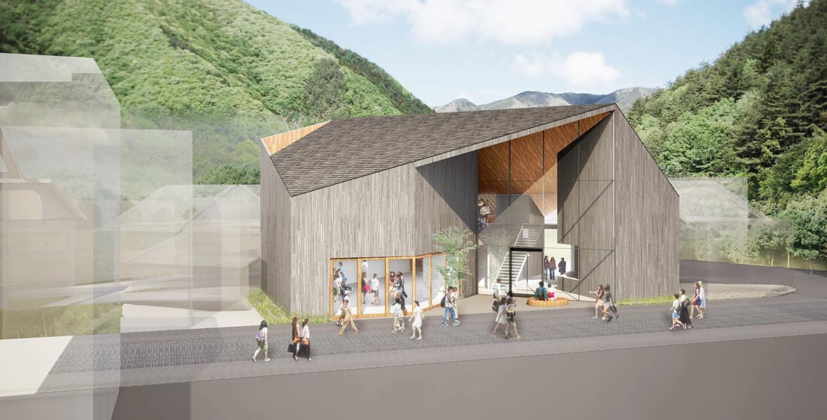黒部市温泉利用多目的施設設計プロポーザル応募案