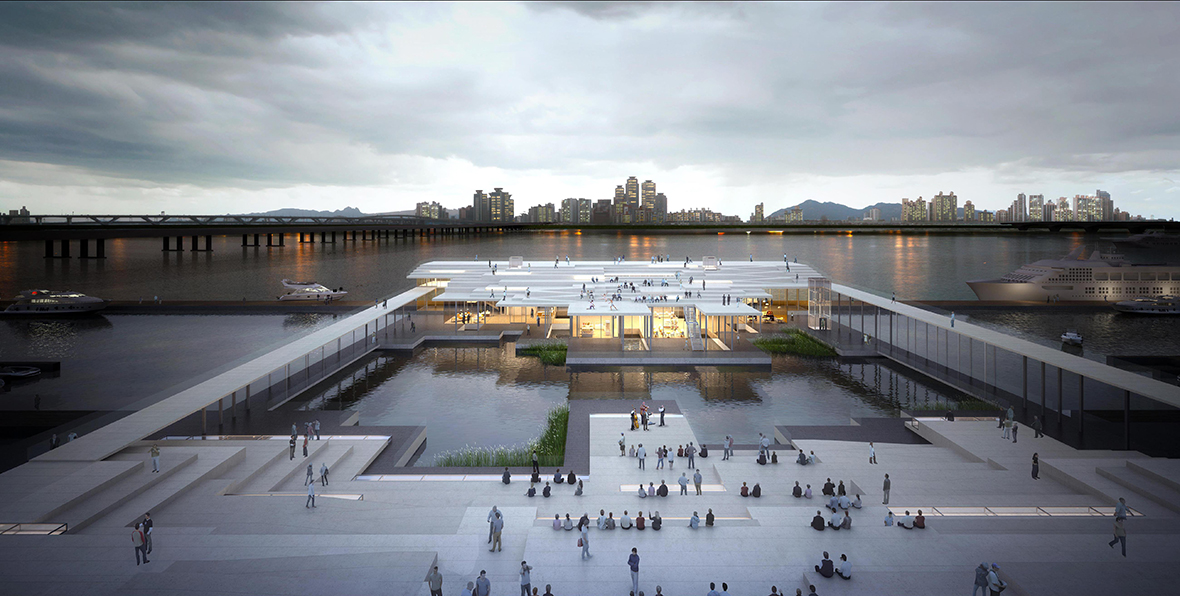 Yeoui-Naru Ferry Terminal 国際設計コンペ 2等案